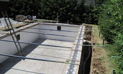 Construction D'une Piscine Extérieur Luxembourg