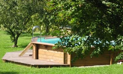 Piscine Extérieur En Bois Luxembourg