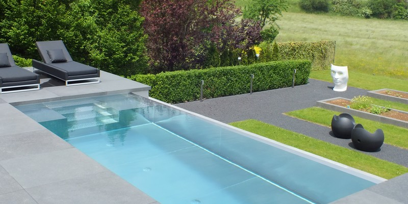 Piscine en inox l 39 originalit sur mesure for Construction piscine inox