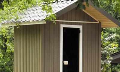 sauna ext rieur une alternative int ressante. Black Bedroom Furniture Sets. Home Design Ideas