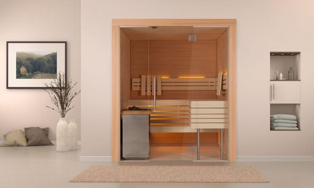 Sauna Isolé Intérieur Luxembourg