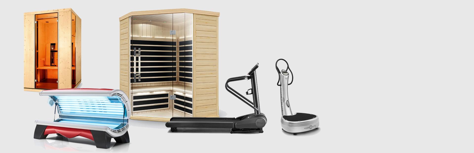Promotion Solarium Cabine Sauna et Technogym Luxembourg